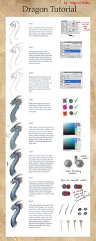 Dragon Tutorial by JoJoesArt