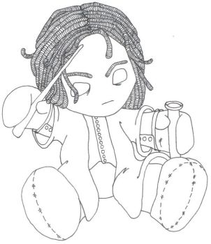 Plushie Snape - WIP by AliceGraphix