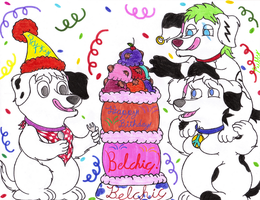 Birthday Pic for Belchic by PuffyDearlySmith