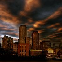 Boston inferno...... by VaggelisFragiadakis