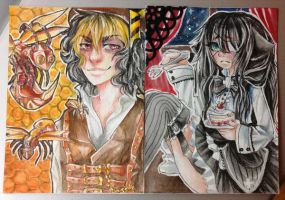 ACEO cardsss by R0TII