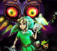 Majora's Mask by MufMuff