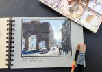 Travel Sketchin' by MarcoBucci