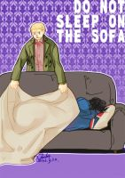Don not sleep on the sofa by Zjackt