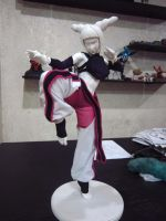 Juri Han 1:4 scale mixed media WIP6 by chiseltown