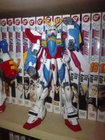 MG Burning Gundam by RQL