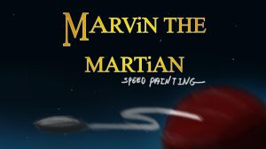 marvin the martian title card/thumbnail by IDROIDMONKEY