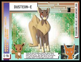 DATA: E-014 .:DUSTEON-E:. by PEQUEDARK-VELVET