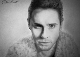 Jared Leto by pkRED