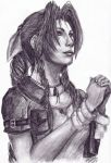 Aerith VII by LonelyLampPost