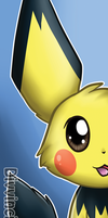 Pichu Bookmark by Divvinci