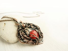 Fire of your heart by UrsulaJewelry