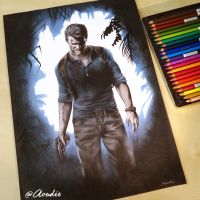 Nathan Drake, Uncharted 4 by aoudie