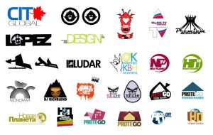 various logos by sounddecor by sounddecor