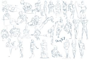 Figure exercises - Day 57 by Dante-mL