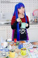 Stocking cakes by Hitomi-Cosplay