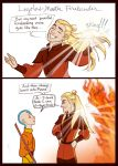 Fire Nation Legolas by GingerOpal