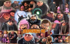 Despicable Me wallpaper by Dinogaby