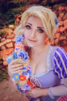 Rapunzel cosplay by shproton