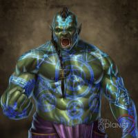 Chargurk of the Dark Pankration by AaronDoyle