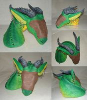 Dragon Bust - Painted by gryphonworks