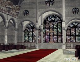 Onechanbara - Church by deexie