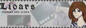 Stamp banner by Stamps-n-Icons
