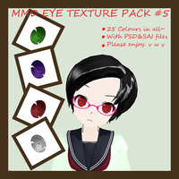 Eye texture pack #5 by Vocapasta