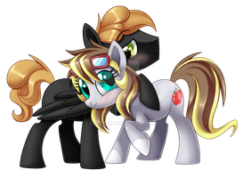 Two Happy Ponies by Centchi