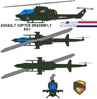 Assault Copter Dragonfly XH-1 by bagera3005