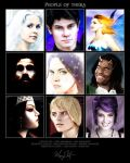 People of Thera by missmarypotter
