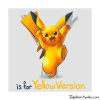 Y is for Yellow Version by Jupeboxgal