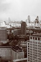 London From a Higher View by malanski
