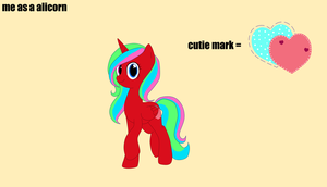 me as a alicorn ref by familyof6