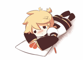 Crying Len - Animation by giannysuki