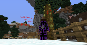 Minecraft trolling when I dont need it by AveryCF