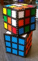 Beads - Rubix cubes by Oggey-Boggey-Man