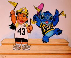 LILO AND STITCH ARE STEELERS FANS! by DannyNicholas