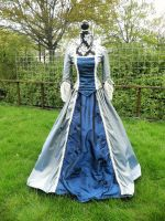 18th century dress front by michelleable