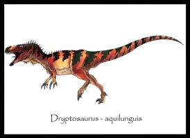Dryptosaurus aquilunguis by Danillo-Toga