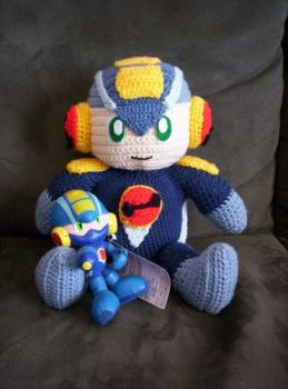 Rockman.EXE Big and Small by BunnieBard