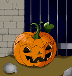 Erron Black in a pumpkin (Animated) by Amine19
