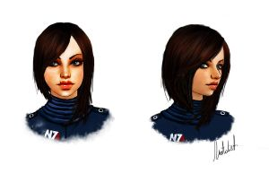 Shepard Commander by Geirahod