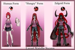 Lazari Ref Sheet by Chibi-Works