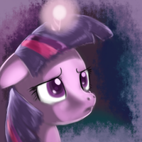 A thinking Twilight by imsokyo