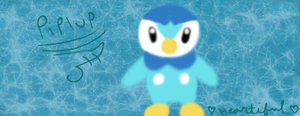 Piplup Muro by Heartiful
