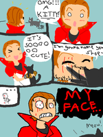 Engarde's Face by PsychoPikachu