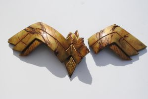 Battle Damaged Wonder Woman Chest Plate by ZigorC