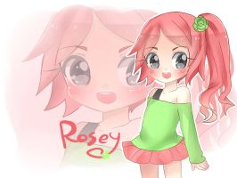 Contest entry:Rosey by NEZUMI-NA