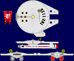 USS Millennium Falcon Multi-View by captshade